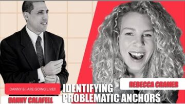 Rebecca Cramer Interviews Danny Calafell   Identifying problematic anchors